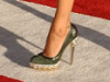 Zoe Saldana in Brian Atwood POIS Pumps