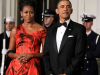 Michelle Obama in Alexander McQueen