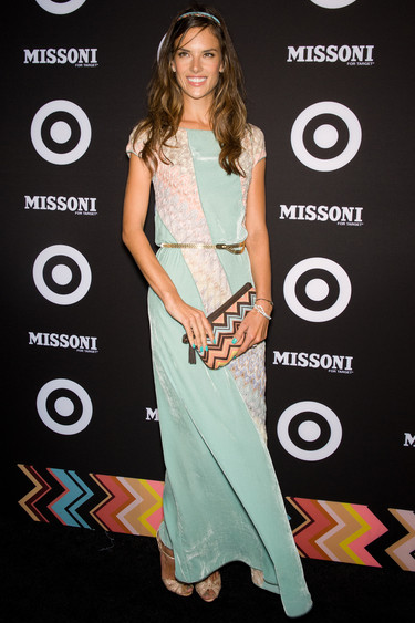 Alessandra Ambrosio in Missoni | Missoni for Target Launch Party
