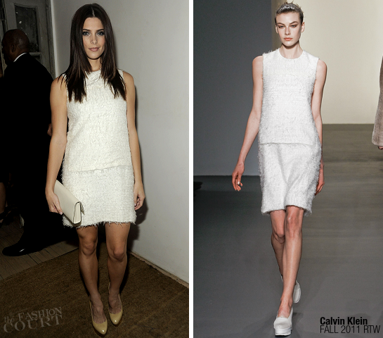 Ashley Greene in Calvin Klein | Calvin Klein Collection Dinner
