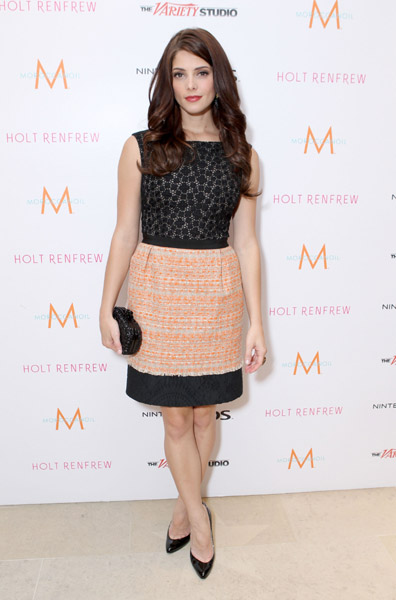 Ashley Greene in Giambattista Valli | 2011 TIFF Photocall - 'Butter'