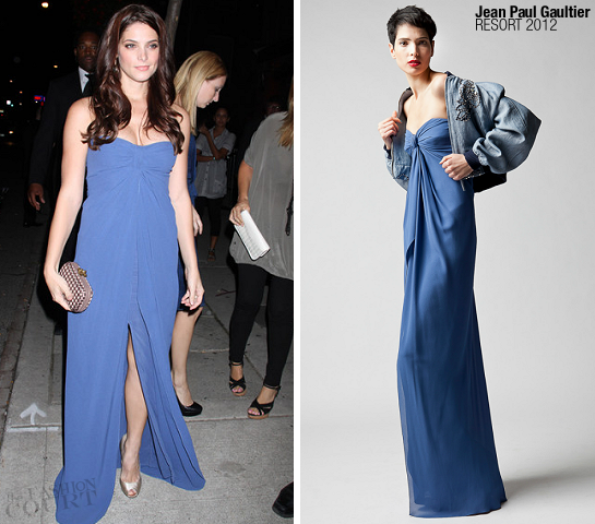 Ashley Greene in Jean Paul Gaultier | 2011 TIFF Screening - 'Ten Year'