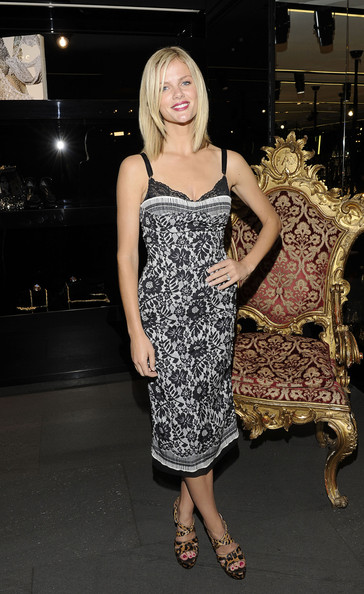 Brooklyn Decker in Dolce & Gabbana | Fashion's Night Out NY