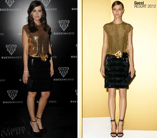 Camilla Belle in Gucci | Gucci Museum Opening