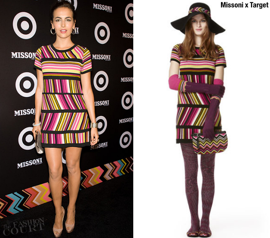 Camilla Belle in Missoni x Target | Missoni for Target Launch Party