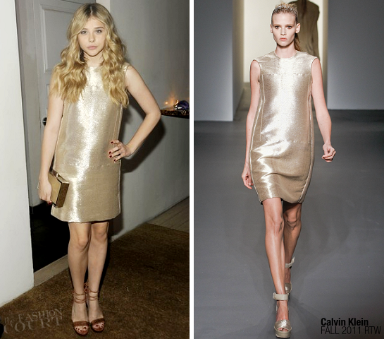 Chloë Moretz in Calvin Klein | Calvin Klein Collection Dinner
