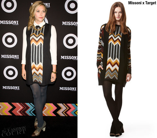 Elizabeth Olsen in Missoni x Target | Missoni for Target Launch Party