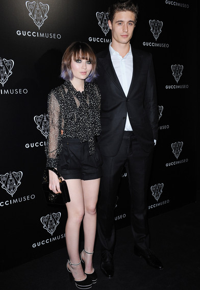 Emily Browning in Gucci | Gucci Museum Opening