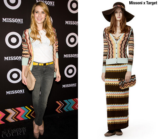 Emma Roberts | Missoni for Target Launch Party
