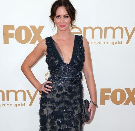 Emmy Awards Fashion: Feeling a Little Blue