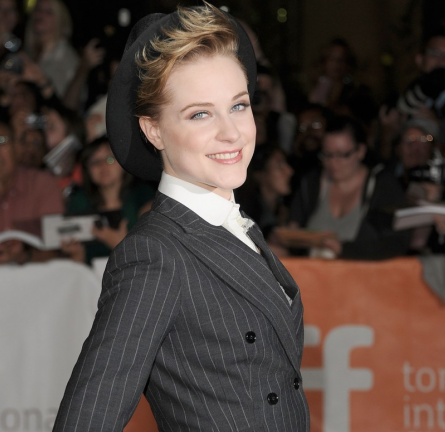 Evan Rachel Wood in Dolce & Gabbana | 2011 TIFF Premiere - 'The Ides of March'