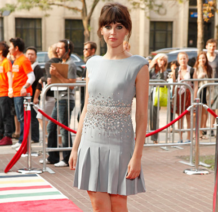 Felicity Jones in Miu Miu | 2011 TIFF Premiere - 'Like Crazy'