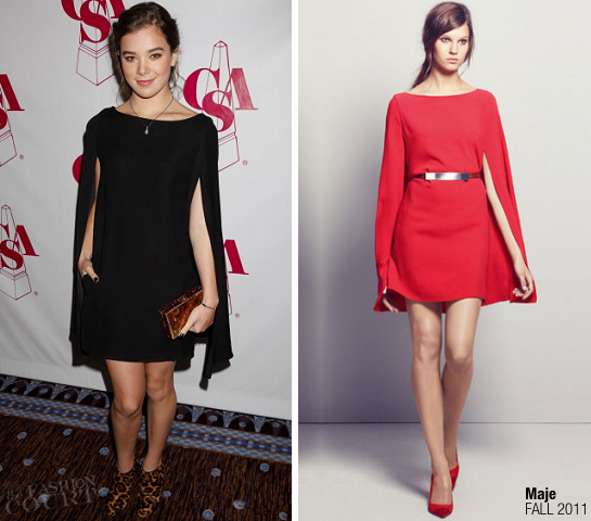 Hailee Steinfeld in Maje | 27th Annual Casting Society Of America Artios Awards