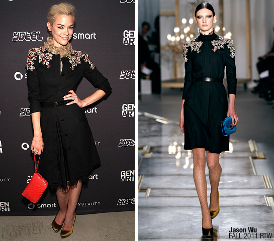 Jaime King in Jason Wu | Gen Art's 'Fresh Faces In Fashion' Presentation