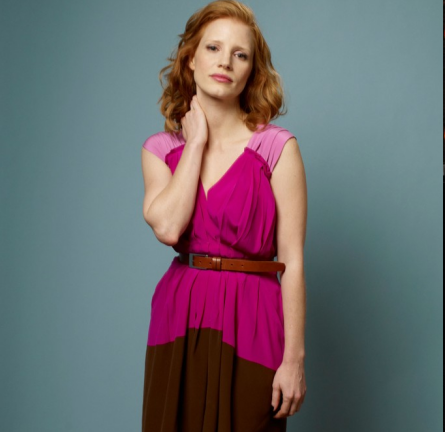 Jessica Chastain in Alberta Ferretti | 2011 TIFF Portraits - 'Take Shelter'