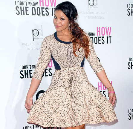 Jordin Sparks in Rachel Roy | 'I Don't Know How She Does It' Premiere