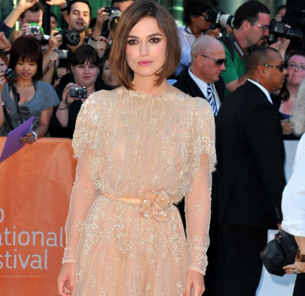 Keira Knightley in Elie Saab | 2011 TIFF Premiere - 'A Dangerous Method'