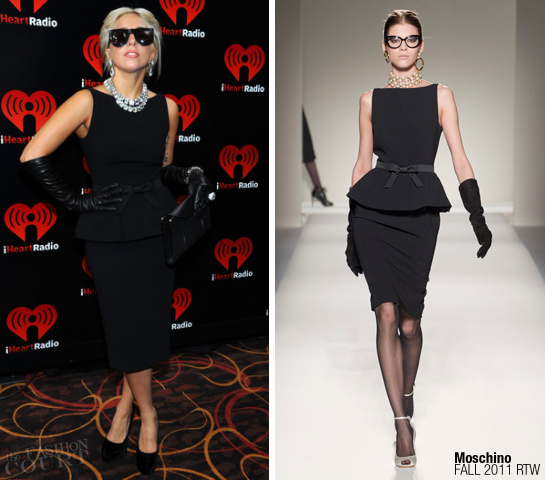 Lady Gaga in Moschino | IHeartRadio Music Festival