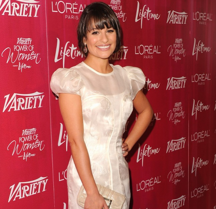 Lea Michele in Katharine Kidd | Variety's Power of Women Luncheon