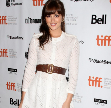 Leighton Meester in Alexander McQueen | 2011 TIFF Premiere - 'The Oranges'