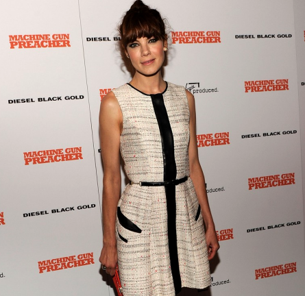 Michelle Monaghan in Jason Wu | 'Machine Gun Preacher' NY Screening