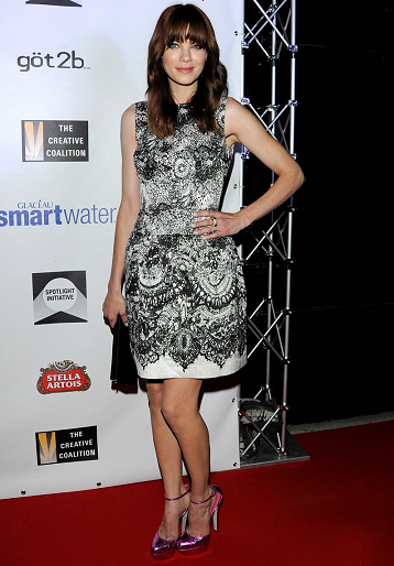 Michelle Monaghan in Prada | Coalition's 2011 Spotlight Initative Awards