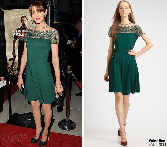 Michelle Monaghan in Valentino | 'Machine Gun Preacher' LA Premiere