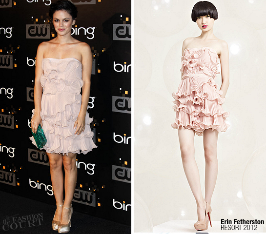 Rachel Bilson in Erin Fetherston | Bing's CW Launch Party