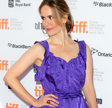 Sarah Paulson in Marc Jacobs | 2011 TIFF Premiere - 'Martha Marcy May Marlene'