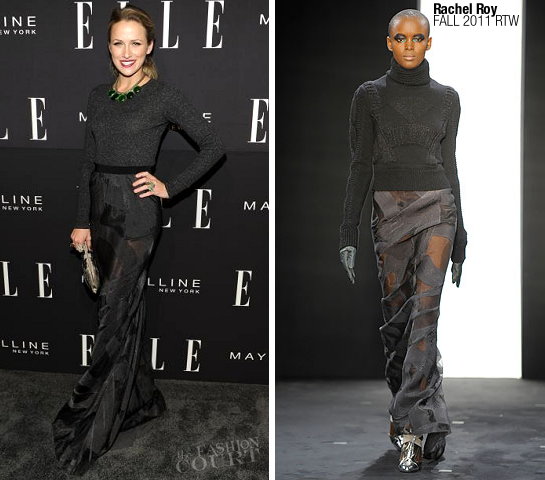 Shantel VanSanten in Rachel Roy | ELLE Fashion NEXT Presentation