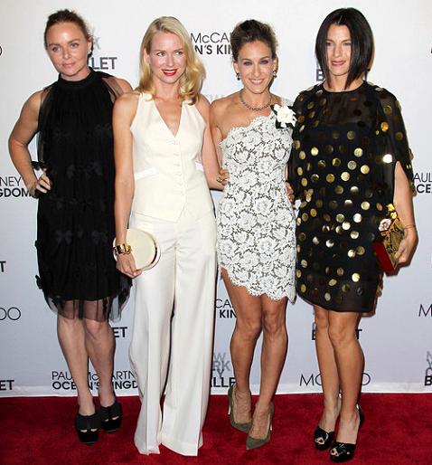 Stella McCartney, Naomi Watts, Sarah Jessica Parker & Jessica Seinfeld in Stella McCartney | NYC Ballet's 'Ocean's Kingdom' Premiere