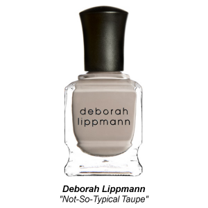 Deborah Lippmann 'Not-So-Typical Taupe' Nail Lacquer