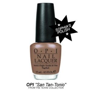 OPI 'San Tan-Tonio' Nail Lacquer