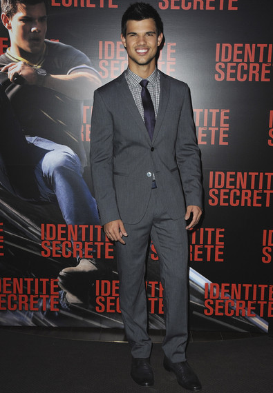 Taylor Lautner in Dolce & Gabbana | 'Abduction' Paris Premiere