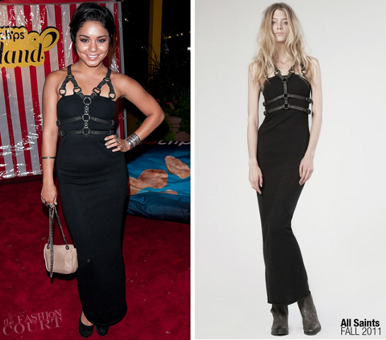 Vanessa Hudgens in All Saints | Fashion's Night Out NY