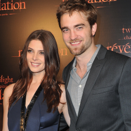 Ashley Greene & Robert Pattinson | 'Breaking Dawn: Part 1' Paris Fan Event