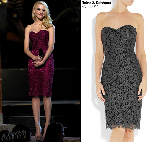 Amber Heard in Dolce & Gabbana | SCREAM 2011 Awards