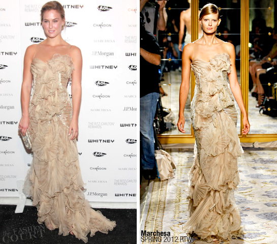 Bar Refaeli in Marchesa | 2011 Whitney Museum Of American Art Gala