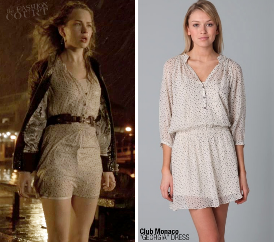 Britt Robertson in Club Monaco | 'The Secret Circle' Pilot Episode
