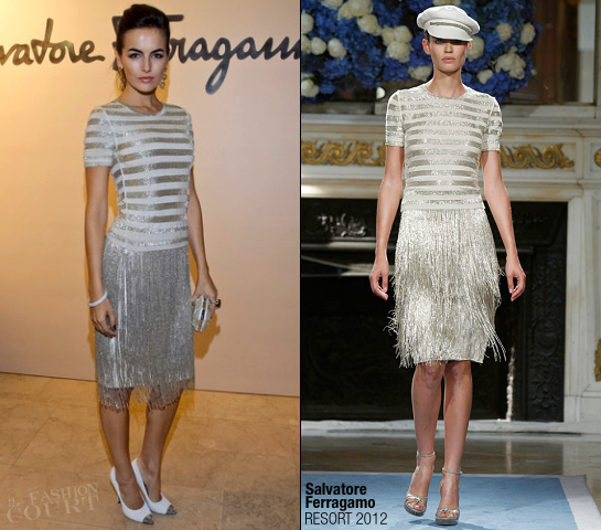 Camilla Belle in Salvatore Ferragamo | Ferragamo Moscow Fashion Show
