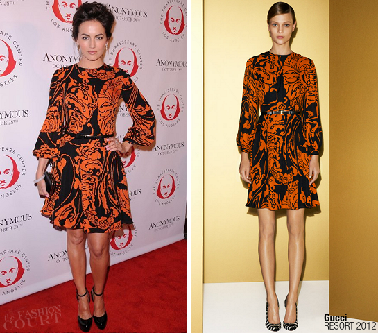 Camilla Belle in Gucci | Shakespeare Center of LA Crystal Quill Awards