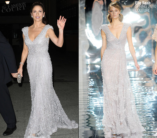 "Catherine Zeta-Jones in Elie Saab | 6th Annual ""A Fine Romance"" Event"