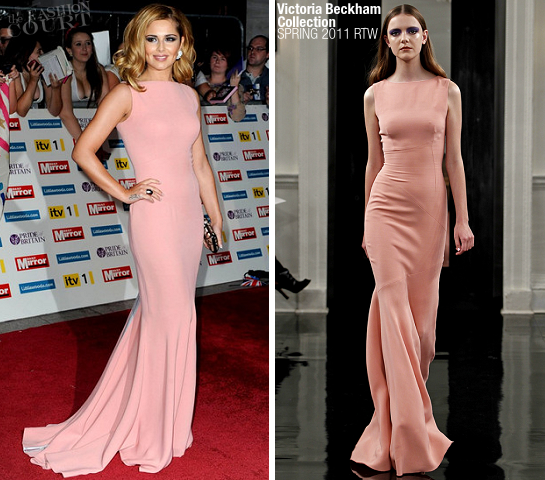 Cheryl Cole in Victoria Beckham Collection | Pride of Britain Awards 2011