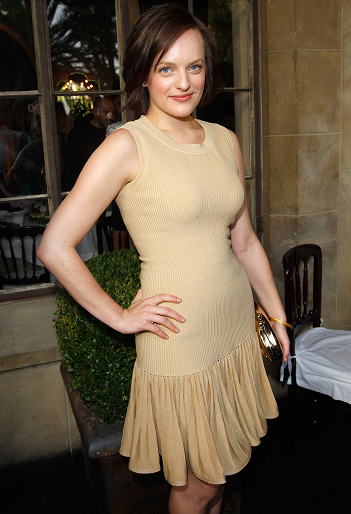 Elisabeth Moss in Azzedine Alaïa | 2011 CFDA Vogue Fashion Fund