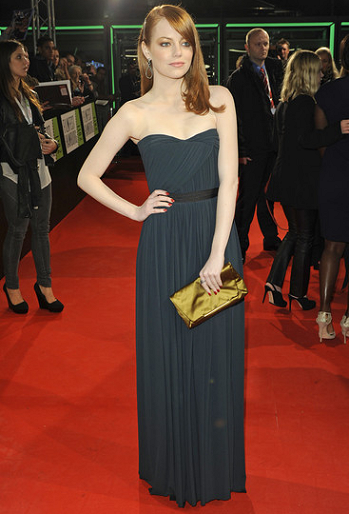 Emma Stone in Lanvin | 'The Help' German Premiere