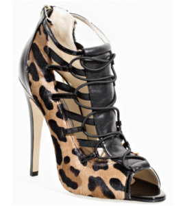 Brian Atwood 'Santana' Open Toe Ankle Boots
