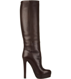 Gucci Leather Knee Boots