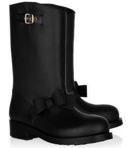 RED Valentino Bow-Detailed Wellington Boots