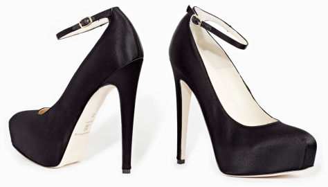 Brian Atwood ZENITH Satin Pumps