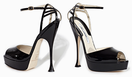 Brian Atwood 'Orlando' Open Toe Platform Sandals